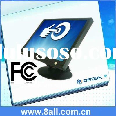 """17"""" POS resistive touch screen LCD monitor / POS Retail, Restaurant & Hospitality touch mon"""