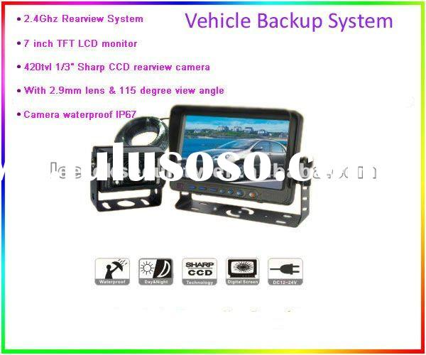"1/3""Color Sharp CCD Vehicle reversing Camera LS-S710"