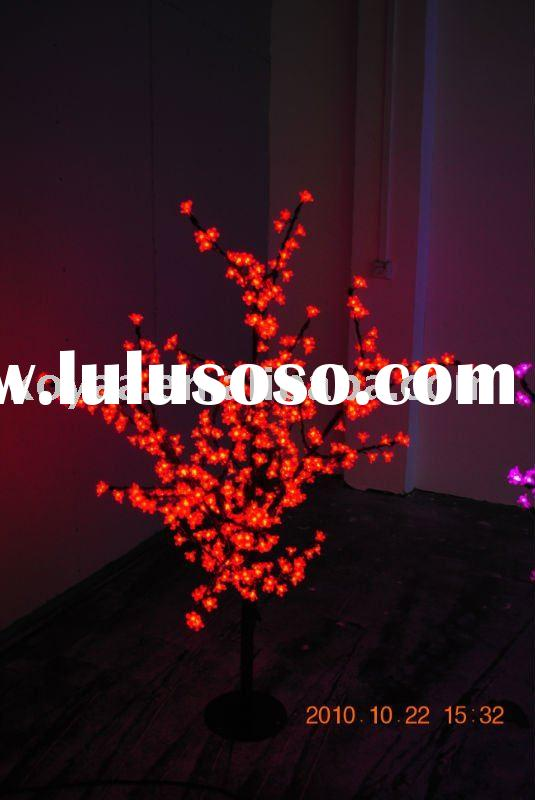 1.5M high quality red LED cherry blossom tree light YH-480-1