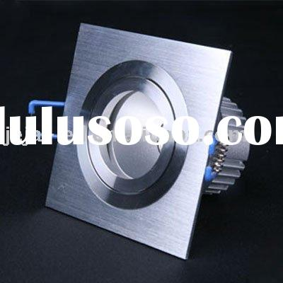1*5W Square High Power LED Recessed Downlight