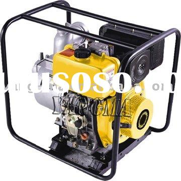1.5/2/3/4inch air cooled engine electric high pressure diesel diaphragm water pump