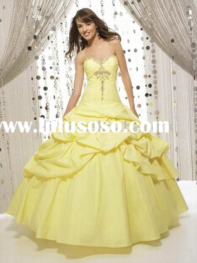 2010 New Style Popular Quinceanera Dresses