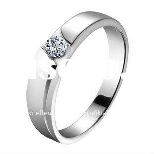 2011 Hot sale elegant 925 sterling silver lover's rings