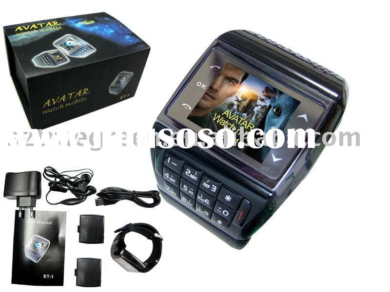 2011 New ET-1 Watch Phone with Touch Screen Unlock phone