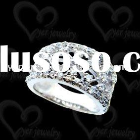 2011 New design handmade sterling silver rings jewelry