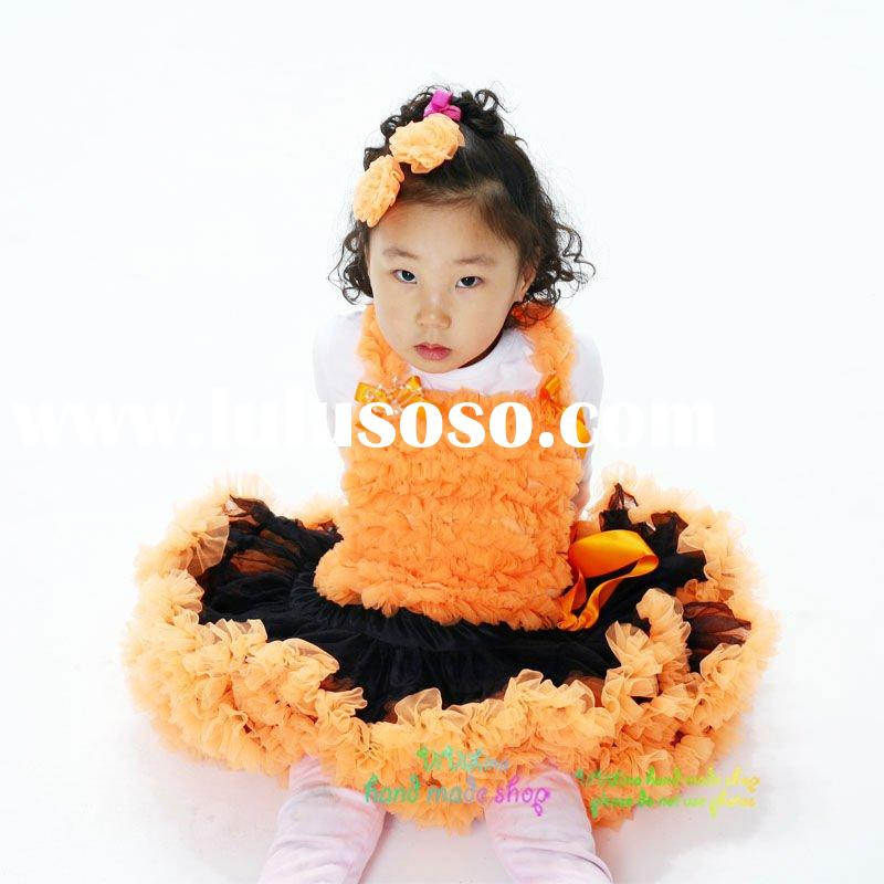 2011 Summer Girls' Fashion Birthday Party Tutu Dress