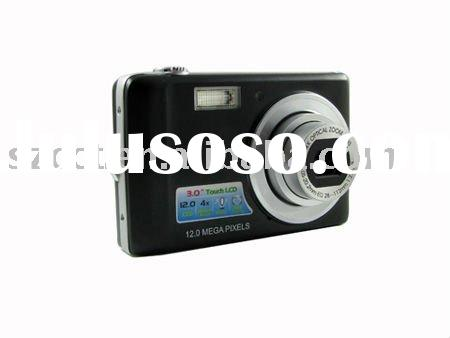 2011 hot selling 3.0 inch touch LCD 4x Optical Zoom CCD Digital Camera DC-k701