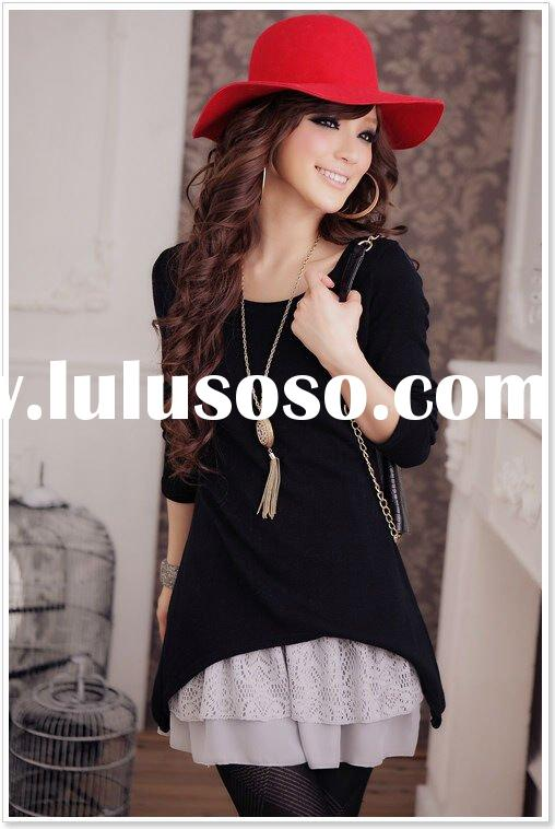 2011 lady fashion winter Knitted dress CH1523