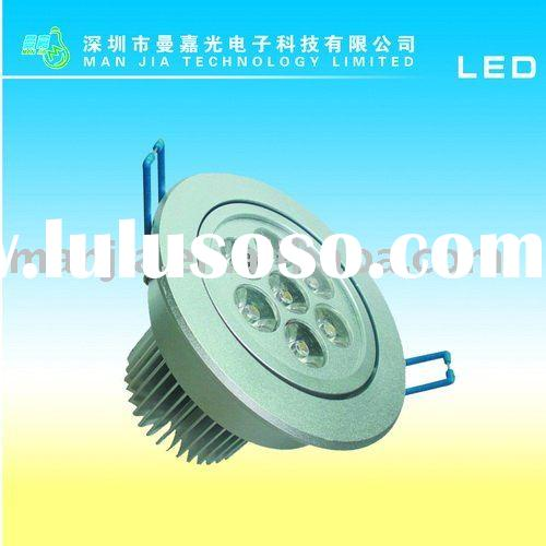 2012 CE&ROHS 7W High power recessed led downlight