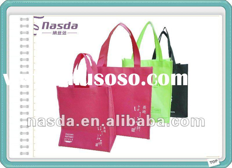 2012 Eco-friendly pp non woven shopping bag