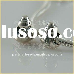 2012 Hotsale sterling silver charms 925- snowman