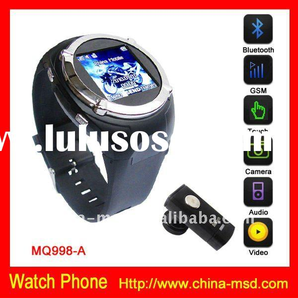 2012 MQ998 Touch Screen Camera Watch Mobile Phone+MP4 Player+Radio