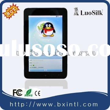 "2012 New!!! 7""High definition Capacitive touch screen Support 3G/WIFI/GPS /bluetoot"