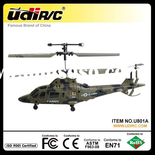 2012 New A109 Army Green Mini RC Helicopters Toys