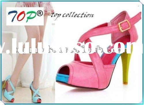 2012 New Arrival and Fashion High Heel Platform Shoes