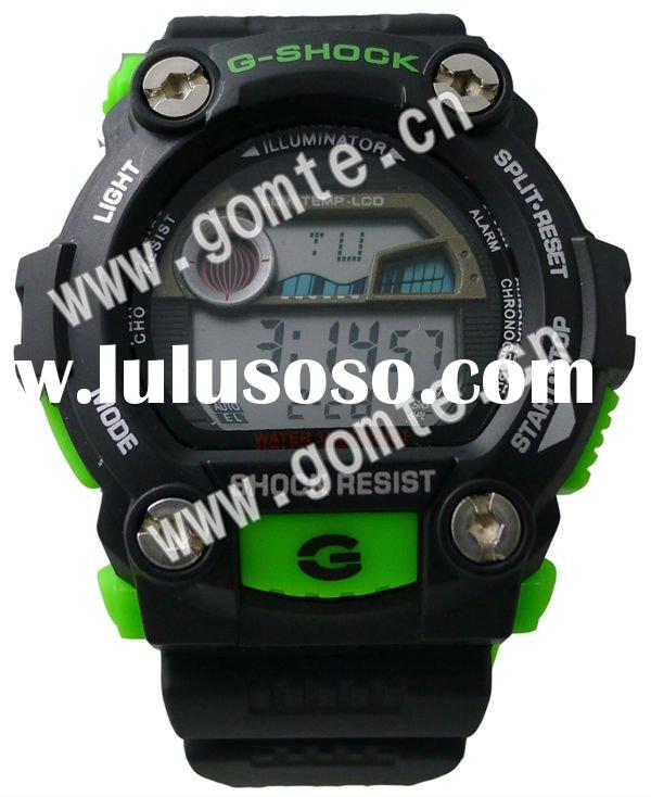 2012 New fashion digital led sports wrist G shocking watches