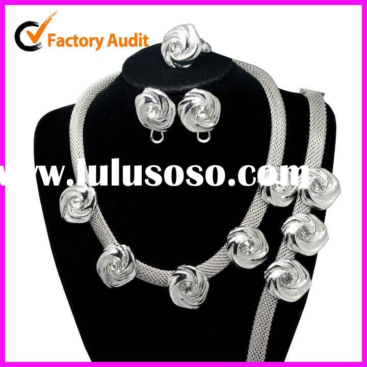 2012 Wholesale Costume Fashion Jewelry Set
