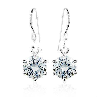 2012 newest popular 925 sterling silver earring
