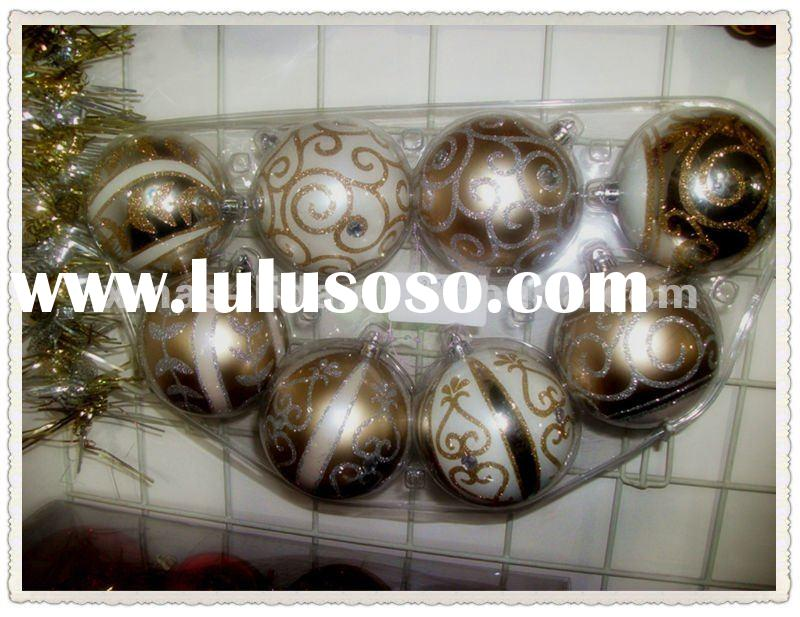 2012 personalized christmas ball ornaments