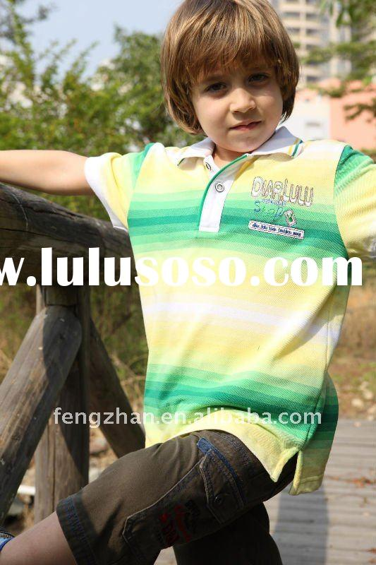2012 top quality boy's short sleeve polo shirt