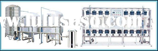 20T/H ultrafiltration mineral water treatment plant