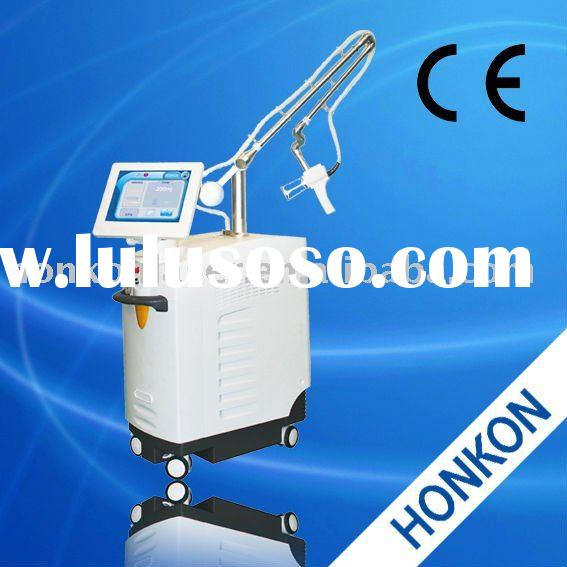 25Walt RF tube Ultrapulse CO2 Fractional laser with Fractional mode cutting mode