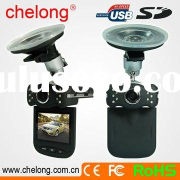 "2.5"" 120 Degree Wide Angle Lens 10 PCS IR HD mini vehicle dvr (CL-727DV)"