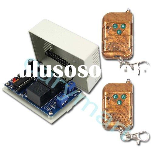 2 Channels RF Wireless Remote Control System / Controller - Transmitter & Receiver - For DC 9V /