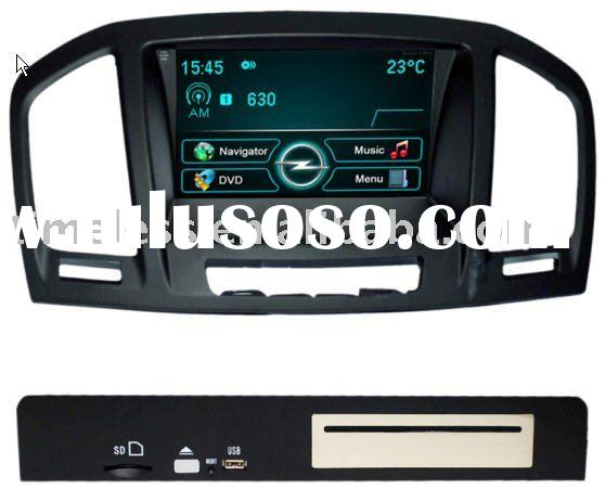 2 Din Car DVD Player for OPEL Insignia with built-in GPS, Dual Zone,Digital Panel, RDS,Steering Whee