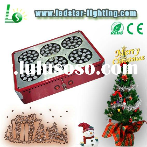 2lens penetration 270w high power 3w led grow light panel amazing for hydroponic greenhouse flowerin