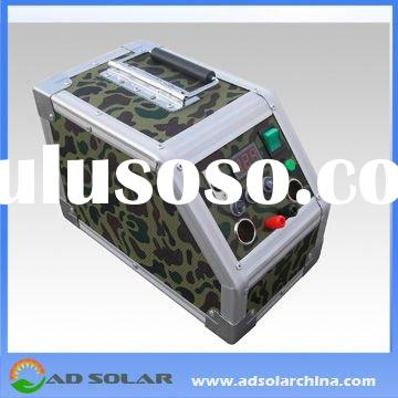300W integrated solar energy control system with battery and inverter