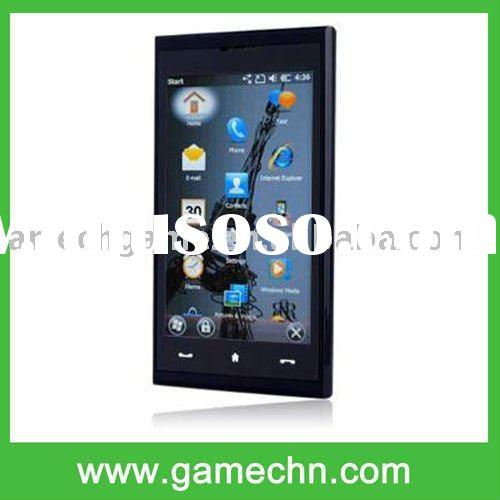 3.8 Touch Screen Quad Band WM 6.5 PDA GPS+WIFI Cell Phone --- Max 4G