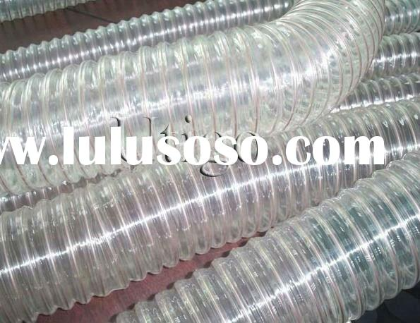 "3"" PVC light duct hose rigid spiral hose flexible hose"