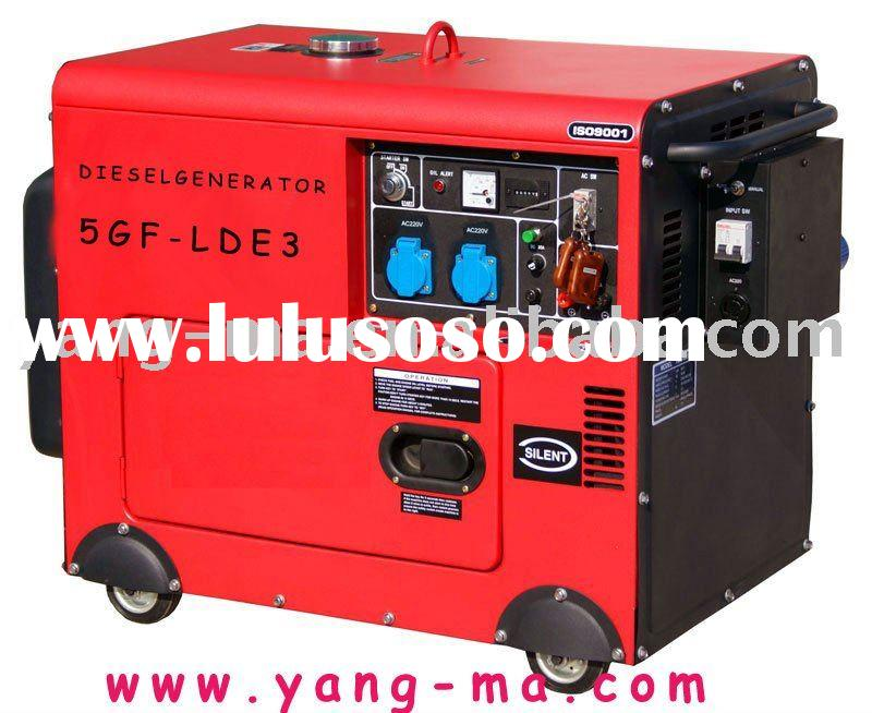 3kw yanmar/kipor type air cooled soundproof silent diesel generator