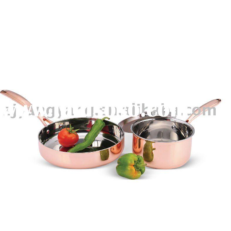 3pcs stainless steel cookware