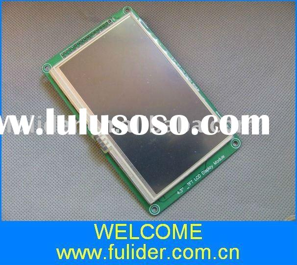 4.3 inch TFT LCD module with SSD 1963 control chip , wiht touch panel, for Development Board