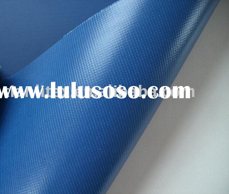 600D PVC coated fire retardant polyester fabric
