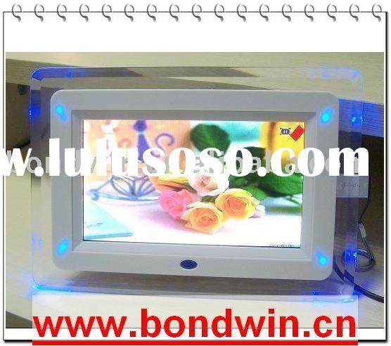 7 inch digital photo frame,good price,high quality