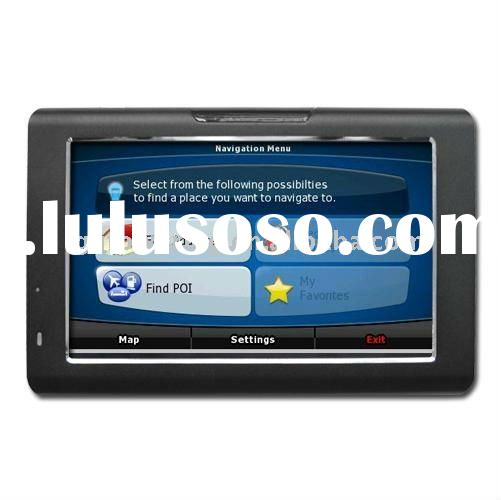 7 inch high definition TFT touch screen GPS Navigation for car