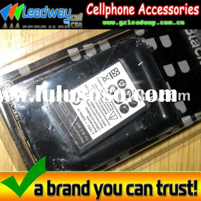 7days standby time! 2200mah high power battery for BlackBerry Curve 8520,with battery back door.