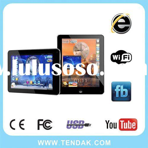 8inch best-selling tablet pc via8650 with android2.2 wifi support external 3G