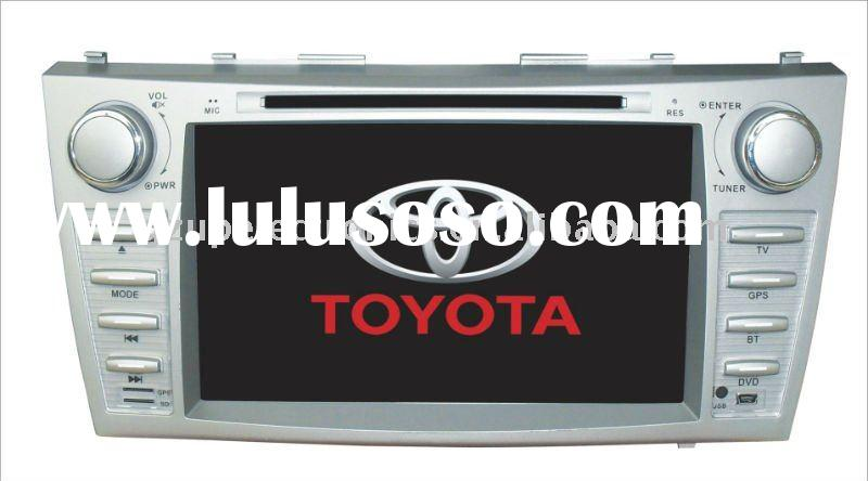 8inch double din Customized car dvd used for Toyota CAMRY 2007-2011