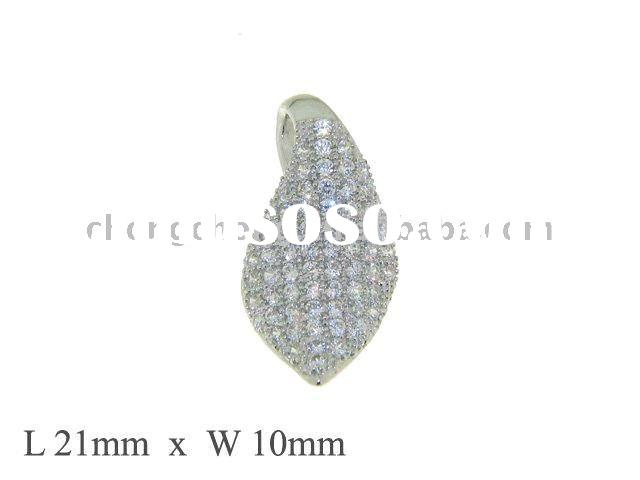 925 Sterling Silver Jewelry Pendent with micro Setting