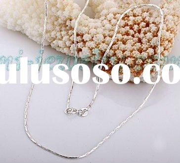 925 Sterling silver / trendy jewelry / wholesale jewelry/silver chain