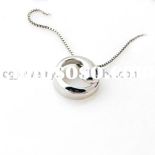 925 sterling silver fashion magic circle pendant
