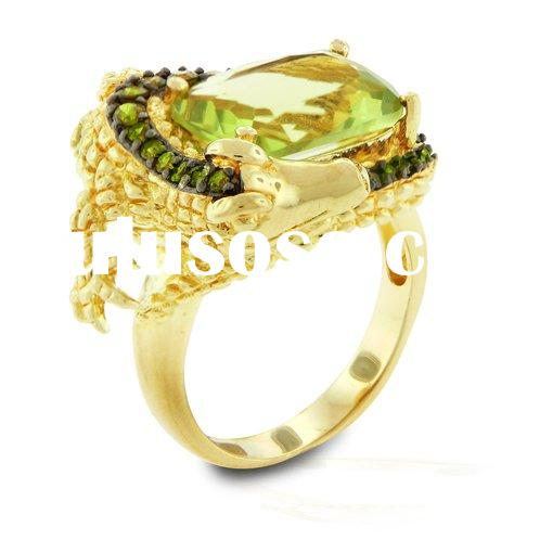 925 sterling silver ring/ fashion ring/ zircon ring/fahion jewelry with CZ/silver ring