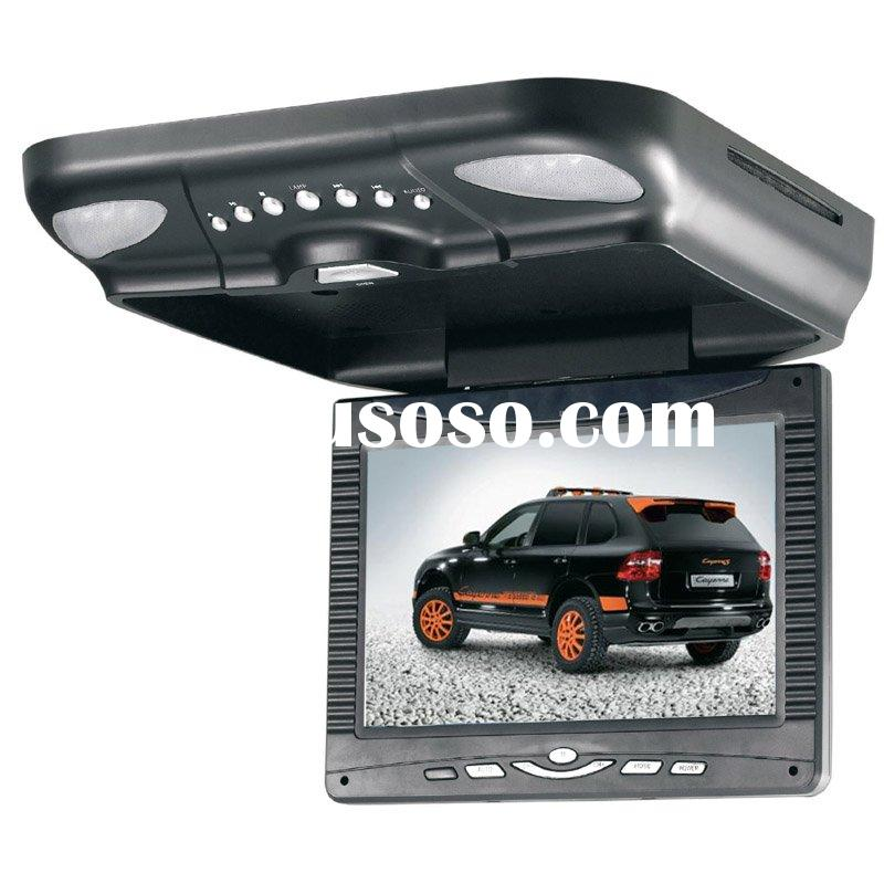 """9.2"""" FLIP-DOWN CAR DVD player /Roof mount/Monitor with DVD Player (TRM-109D)"""