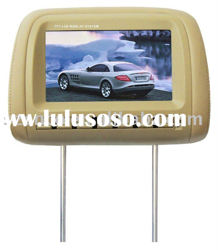 9 INCH HEADREST TFT LCD MONITOR WITH DVD PLAYER