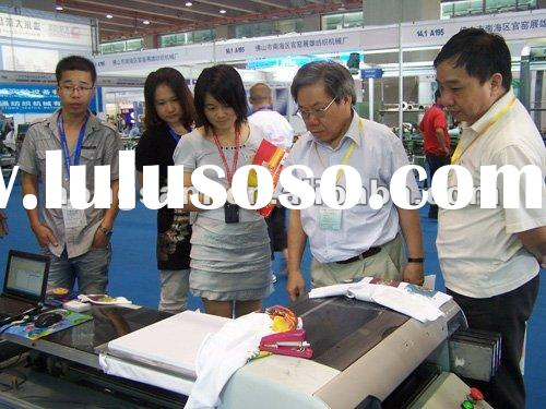 A2 format T-shirt Machine with white ink and water based textile pigment ink