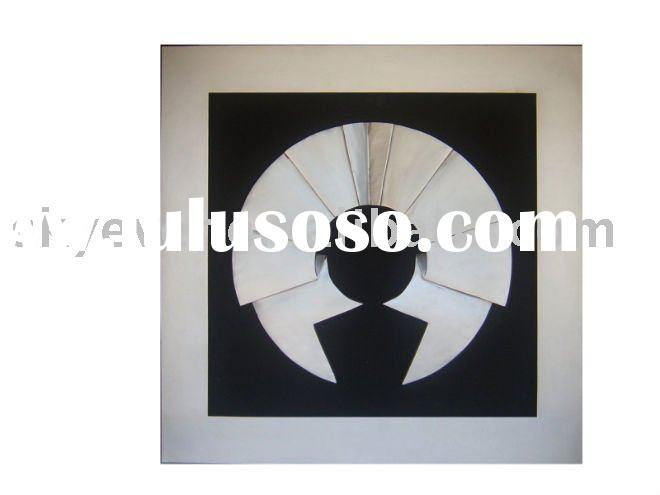 Abstract Wooden Wall Art for Interior Decoration